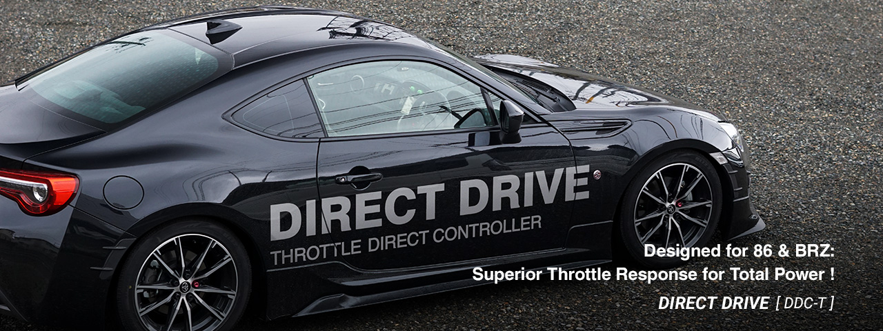DIRECT DRIVE for 86 & BRZ DDC-T