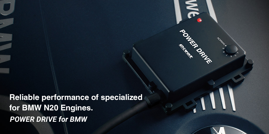 POWER DRIVE for BMW