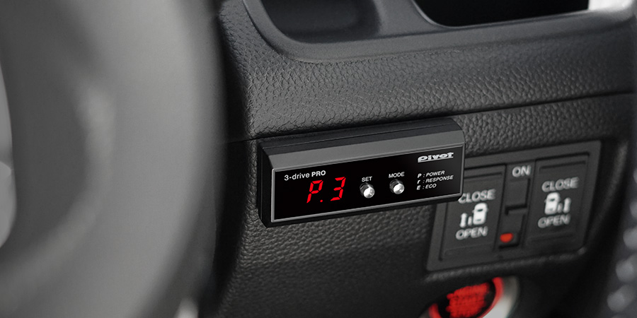 3-drive · PRO (3DP) | Throttle Controller | PIVOT