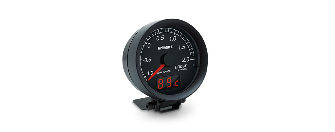 dual gauge dxb b dxb dxt dsb dst メーター pivot