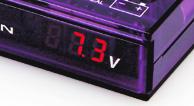Mega RAIZIN voltage display